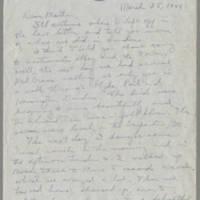 1944-03-28 Helen Fox to Bess Peebles Fox Page 1