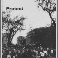 """1970-06 Iowa Alumni Review """"""""At the U of I and over the nation May was a time of Student Protest"""""""" Page 2"""