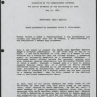 1993-05-15 Maria Cano Martinez Service Award Page 1