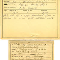 Thomas Wilmer Dewing, egg card # 241