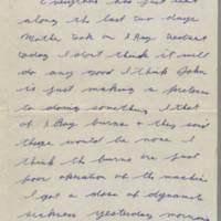 1942-01-20 Lloyd Davis to Laura Davis Page 1
