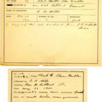 Thomas Wilmer Dewing, egg card # 526
