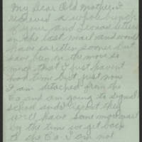 1918-10-15 Wright Jolley to Mrs. S.R. Jolley Page 1