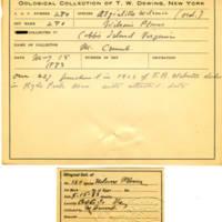 Thomas Wilmer Dewing, egg card # 184