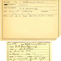 Thomas Wilmer Dewing, egg card # 440