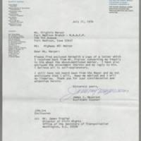 1974-07-11 Mr. James I. Meyerson to Ms. Virginia Harper