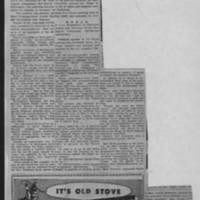 "1951-10-30 Burlington Hawkeye Gazette Article: ""Burlington Self-Survey Committee Lists Findings"""