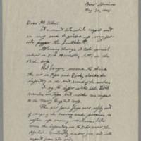 1945-05-20 R.K Ward to Dave Elder Page 1