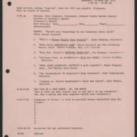 1971-10-28 'Agenda'