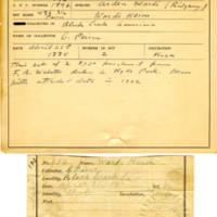 Thomas Wilmer Dewing, egg card # 138