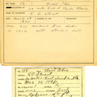 Thomas Wilmer Dewing, egg card # 133