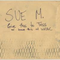 1983-03-04 Envelope: Ladies Against Women - Back