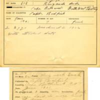 Thomas Wilmer Dewing, egg card # 113