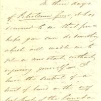 J.B. Plumb letters to Thomas Clark Durant, 1864-1882
