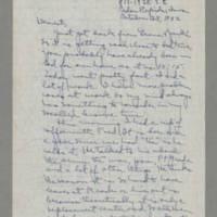 1942-10-28 Laura Davis to Lloyd Davis Page 1