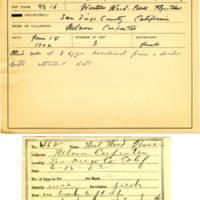 Thomas Wilmer Dewing, egg card # 360