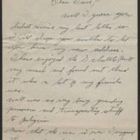 1945-09-10 Manuel J. McKune to Dave Elder Page 1