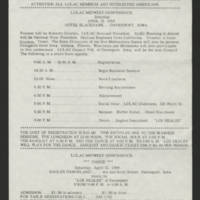 """1969-03-26 Newsletter: """"""""LULAC Glances"""""""" Page 4"""