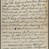 1917-11-30 Harvey Wertz to Mr. L.A. Wertz Page 1