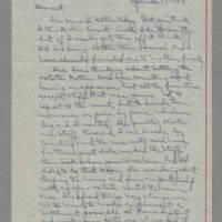 1942-09-17 Laura Davis to Lloyd Davis Page 1