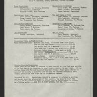 """1971-02-13 Newsletter: """"""""LULAC Glances"""""""" Page 6"""