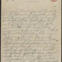 1917-08-29 Harvey Wertz to Mrs. L.A. Wertz Page 2