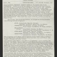 "1969-06-02 Newsletter: """"LULAC Glances"""" Page 1"