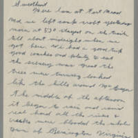 1942-10-18 Lloyd Davis to Laura Davis Page 1