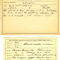 Thomas Wilmer Dewing, egg card # 309