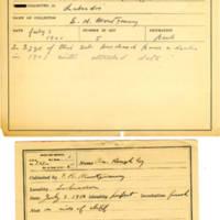 Thomas Wilmer Dewing, egg card # 232