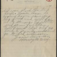 1917-08-29 Harvey Wertz to Mrs. L.A. Wertz Page 3