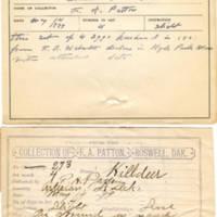 Thomas Wilmer Dewing, egg card # 251