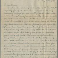 1945-11-25 T/Sgt. Charlie Thrapp to Dave Elder Page 1