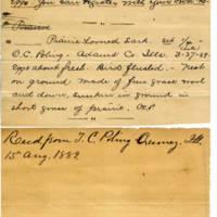 Clinton Mellen Jones, egg card # 216