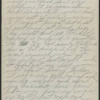 1917-10-13 Harvey Wertz to Mrs. L.A. Wertz Page 2
