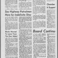 """1970-05-11 Daily Iowan Article: """"""""Option to  Leave Given Students"""""""" Page 3"""