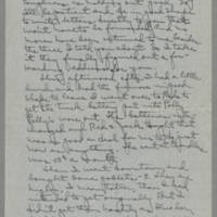 1943-02-13 Laura Davis to Lloyd Davis Page 2