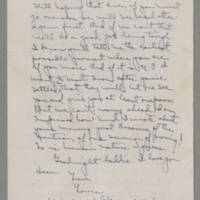 1943-01-11 Laura Davis to Lloyd Davis Page 4
