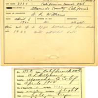 Thomas Wilmer Dewing, egg card # 254