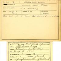 Thomas Wilmer Dewing, egg card # 723u