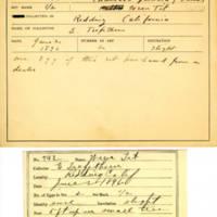 Thomas Wilmer Dewing, egg card # 822u