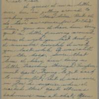 1945-08-22 Pfc. Eddie Prebyl to Dave Elder Page 1