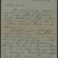 1945-06-15 Pfc. Roger Banks to Dave Elder Page 1