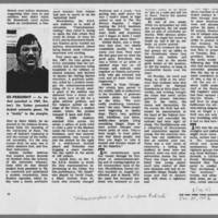 """1972-01-30 New York Times Magazine Article: """"""""Metamorphosis Of A Campus Radical"""""""" Page 8"""