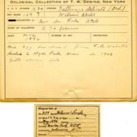 Thomas Wilmer Dewing, egg card # 172