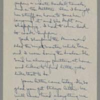 1943-01-16 Laura Davis to Lloyd Davis Page 2