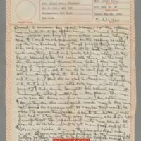 1943-03-30 Laura Davis to Lloyd Davis Page 1