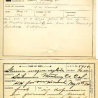 Thomas Wilmer Dewing, egg card # 683u