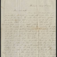 Ward family letters, 1850-1900