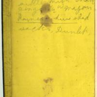 Philip H. Conard diary, 1864-1865